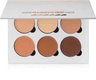 BelláPierre Contour & Highlight paleta de contorno de rostro en crema