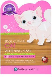 Belleza Castillo Edge Cutimal Cat маска для шкіри обличчя з відбілюючим ефектом