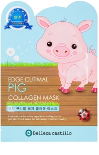 Belleza Castillo Edge Cutimal Pig Facial Mask With Collagen