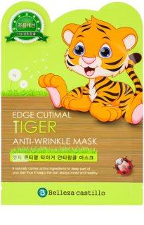 Belleza Castillo Edge Cutimal Tiger máscara suavizante e reafirmante para rugas