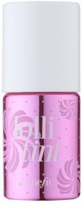 Benefit Lolli Tint colorete líquido y brillo labial 2 en 1