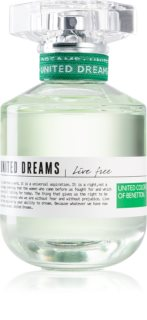 Benetton United Dreams for her Live Free eau de toilette för Kvinnor
