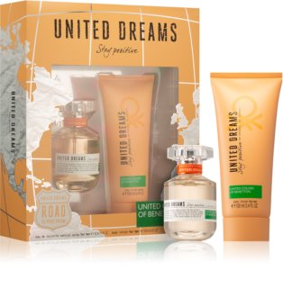 Benetton United Dream Stay Positive set cadou III.