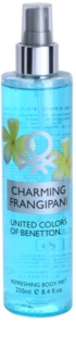 Benetton Charming Frangipani Body Spray for Women 250 ml