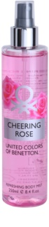 Benetton Cheering Rose Bodyspray  voor Vrouwen  250 ml