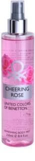 Benetton Cheering Rose Körperspray für Damen 250 ml