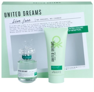Benetton United Dreams Live Free Gift Set  II.