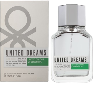 Benetton United Dream Aim High Eau de Toilette voor Mannen 100 ml