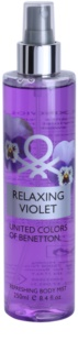 Benetton Relaxing Violet spray corporel pour femme 250 ml