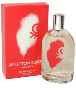 Benetton Rosso Eau de Toilette para mulheres 100 ml