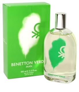 Benetton Verde Eau de Toilette voor Mannen 100 ml