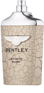 Bentley Infinite Rush toaletná voda tester pre mužov 100 ml