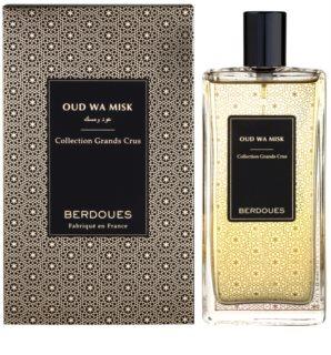 Berdoues Oud Wa Misk eau de parfum unisex 2 ml esantion