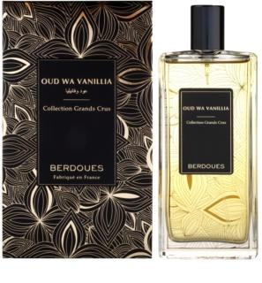 Berdoues Oud Wa Vanillia eau de parfum unisex 2 ml esantion