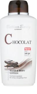 Bettina Barty Chocolate Lapte de mâini și de corp cu efect de hidratare