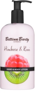 Bettina Barty Raspberry & Kiwi lait mains et corps