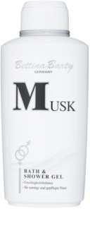 Bettina Barty Classic Musk gel douche pour femme 500 ml