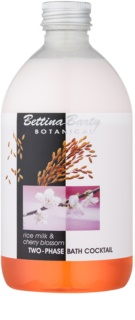Bettina Barty Botanical Rise Milk & Cherry Blossom mousse bi-phasée pour le bain