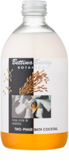 Bettina Barty Botanical Rise Milk & Vanilla dvojfázová pena do kúpeľa