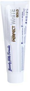 Beverly Hills Formula Perfect White Gold антибактериална избелваща паста за зъби със златни частици