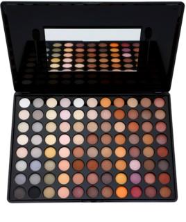 BHcosmetics 88 Color Neutral palette de fards à paupières avec miroir