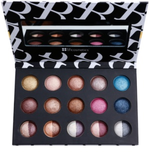 BHcosmetics Baked and Beautiful Eye Shadow Palette With Mirror