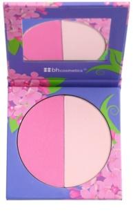 BHcosmetics Floral Puder-Rouge mit Spiegel