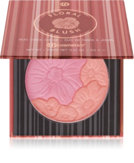 BHcosmetics Floral Duo Blush With Mirror