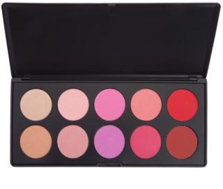 BHcosmetics Glamorous Blush Palette