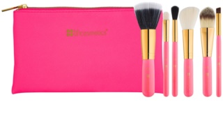BHcosmetics Neon Pink zestaw pędzli