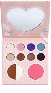 BHcosmetics That´s Heart palette de maquillage avec miroir
