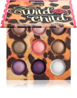 BHcosmetics Wild Child Eyeshadow Palette with Mirror