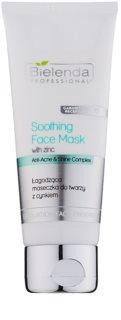 Bielenda Professional Anti-Acne & Shine Complex Kalmerende Masker  voor Vette Huid met Acne Neiging
