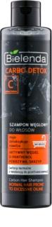 Bielenda Carbo Detox Active Carbon szampon z węglem aktywnym do włosów normalnych i przetłuszczających się