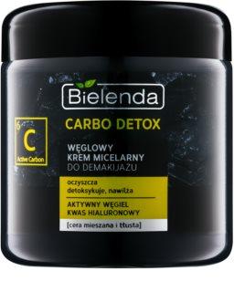 Bielenda Carbo Detox Active Carbon  Crema de curatare cu carbune activ si microunde pentru ten mixt si gras