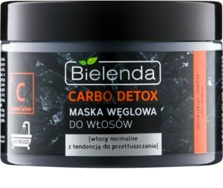 Bielenda Carbo Detox Active Carbon maseczka do włosów  z węglem aktywnym