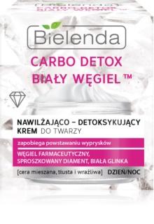 Bielenda Carbo Detox White Carbon ενυδατική κρέμα ημέρας και νύχτας