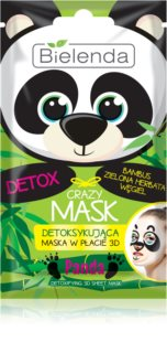 Bielenda Crazy Mask Panda Detox Masker  3D