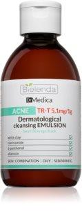 Bielenda Dr Medica Acne дерматологічна очищуюча емульсія для жирної шкіри зі схильністю до акне