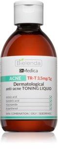 Bielenda Dr Medica Acne Reinigendes Gesichtshauttonikum für fettige Haut mit Neigung zu Akne