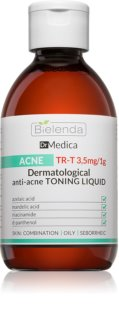 Bielenda Dr Medica Acne tónico de limpeza para pele oleosa propensa a acne