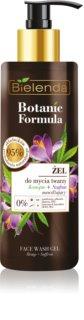 Bielenda Botanic Formula Hemp + Saffron gel de limpeza facial com efeito hidratante