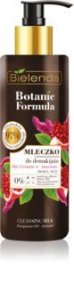 Bielenda Botanic Formula Pomegranate Oil + Amaranth leite facial de limpeza
