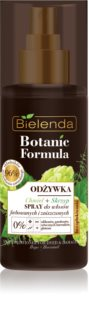 Bielenda Botanic Formula Hops + Horsetail bezoplachový kondicionér ve spreji pro poškozené a barvené vlasy