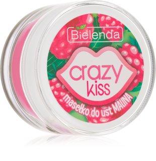 Bielenda Crazy Kiss Raspberry cuidado lábial de manteiga
