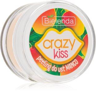 Bielenda Crazy Kiss Mango gommage adoucissant au sucre lèvres