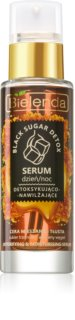 Bielenda Black Sugar Detox sérum purifiant détoxifiant