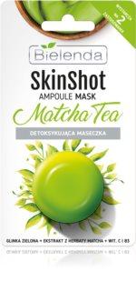 Bielenda Skin Shot Matcha Tea Detoxifying Skin Mask