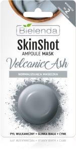Bielenda Skin Shot Volcanic Ash Normaliserende Masker voor het Gezicht