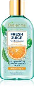 Bielenda Fresh Juice Orange água micelar hidratante